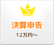 決算申告 12万円~